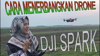 Cara Menerbangkan Drone DJI SPARK  untuk Pemula
