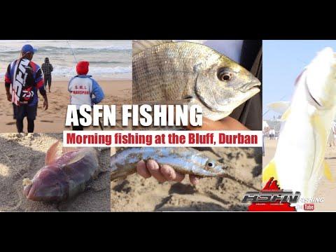 ASFN Fishing - Morning Fishing At The Bluff, Durban
