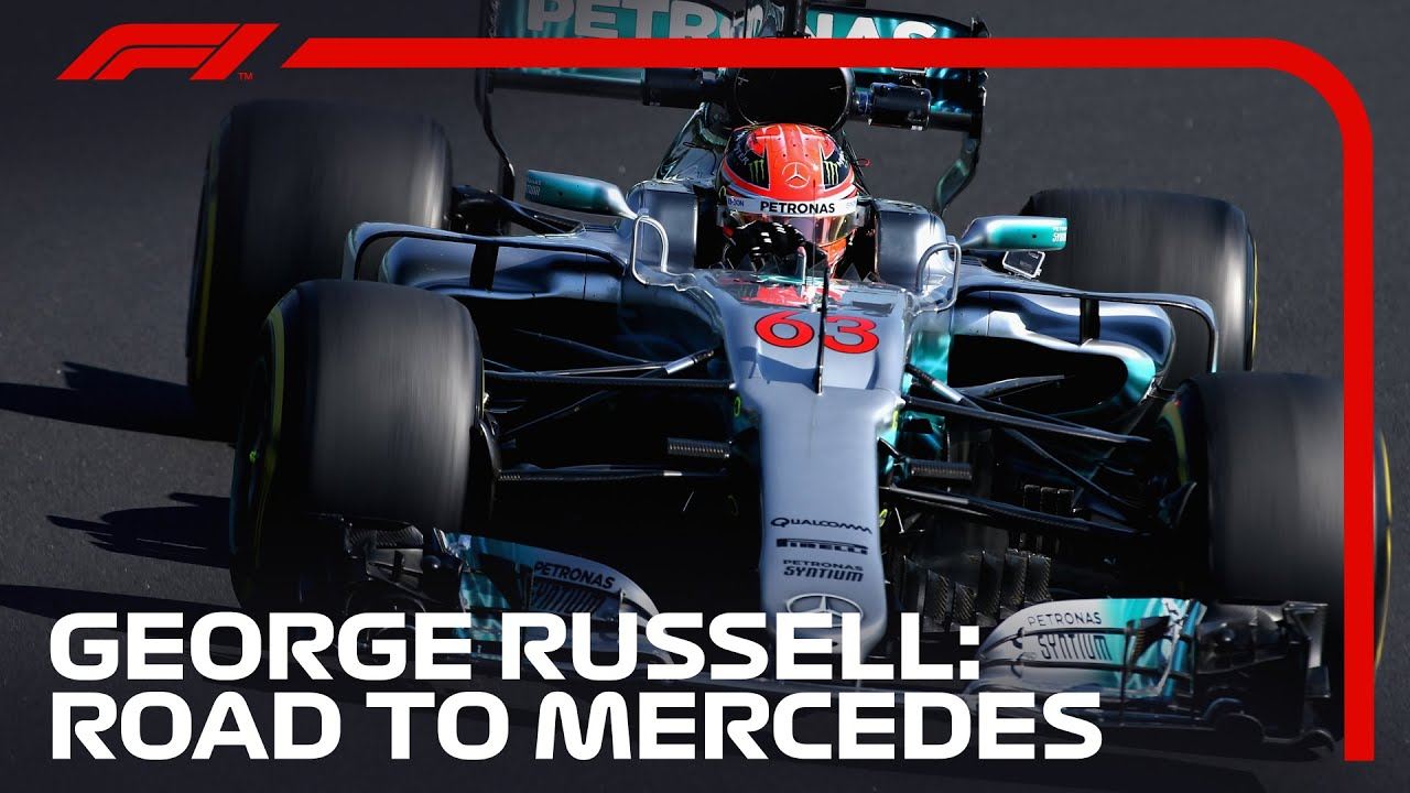 Download George Russell's Journey To Mercedes