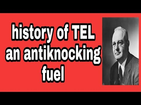 Tetra ethyl lead an anti knocking fuel history unknown mechanical engineer