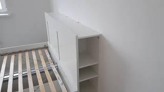 видео Белые двуспальные кровати