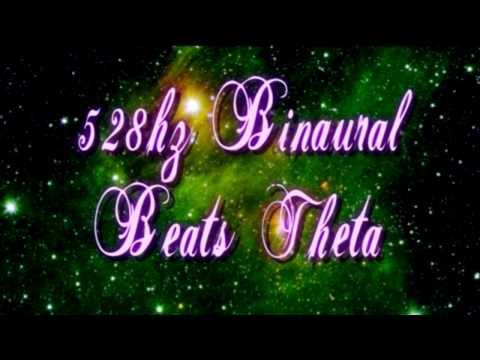 Dreamy Theta Binaural Beats 528 Hz (4 Hz to 6 Hz Beat Frequency)