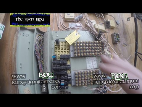 How Building Telephone Line Terminal Entrance Block Box Is Set Up Video
