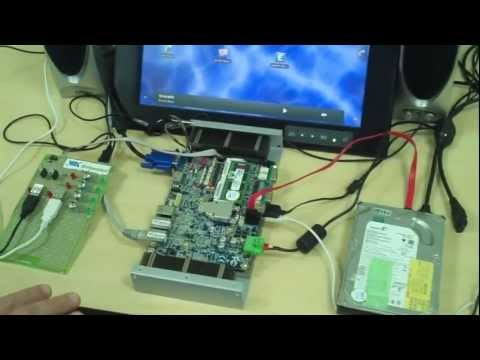 Android OS on VIA x86 Board Demo