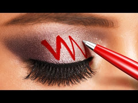 20 MAKEUP HACKS TO SAVE YOUR TIME AND MONEY