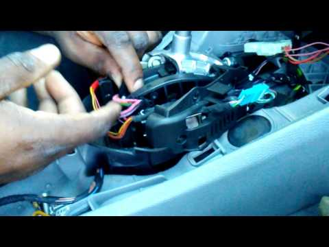 Cutting BMW Steptronic Stalk for DCT LED Shifter Retrofit DIY