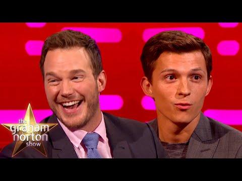 Chris Pratt & Tom Holland Go ONWARD! | The Graham Norton Show