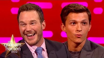 Chris Pratt & Tom Holland Go ONWARD! | The Graham Norton Show
