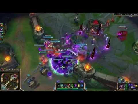 The Burning Legion invading Summoner's Rift!