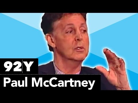 Paul McCartney with Charlie Rose