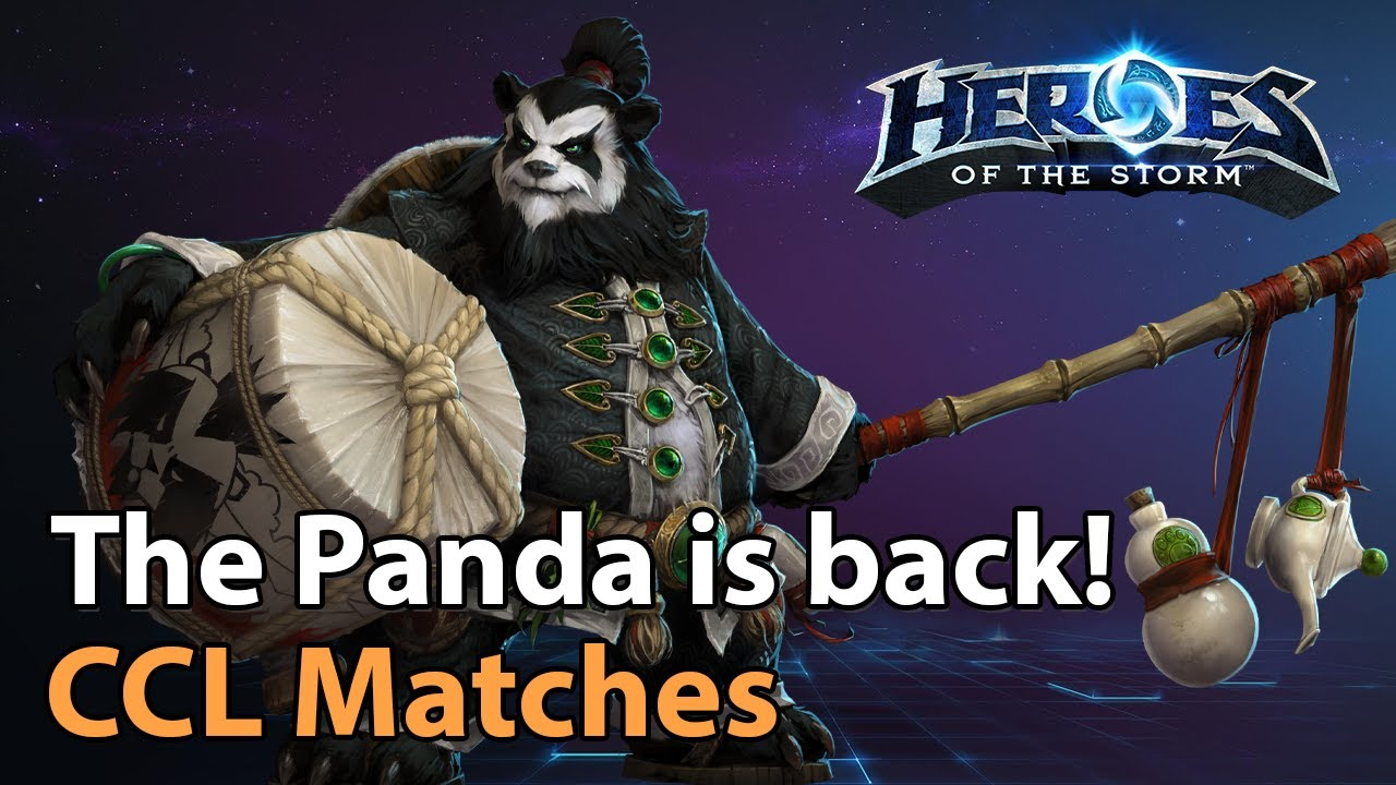 ► The Panda is back! More CCL Matches! - Heroes of the Storm Esports