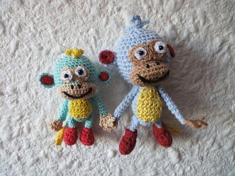 Обезьянка БАШМАЧОК Ч-4 Monkey Cypripedium Crochet P-4из YouTube · Длительность: 49 мин23 с