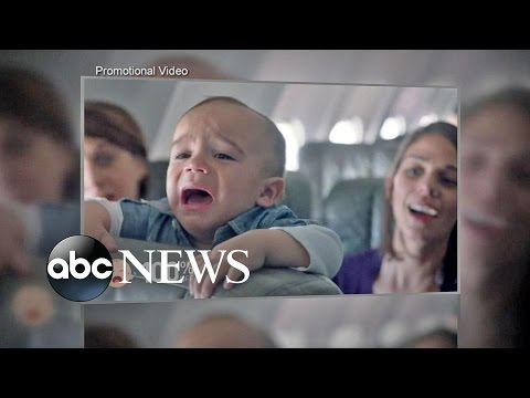 JetBlue Gives Parents With Cry Babies Discounts for Mother's Day