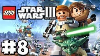 LEGO Star Wars 3 - The Clone Wars - Episode 08 - GunGan General (HD)