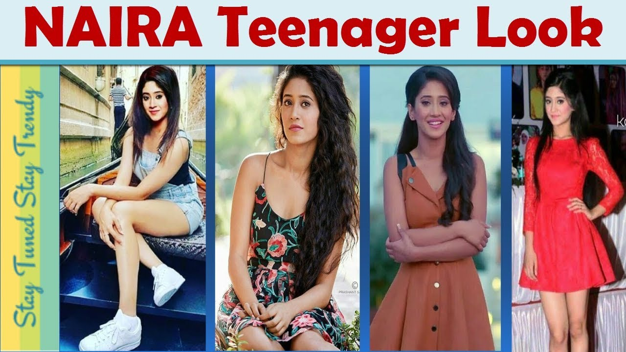 Indian Teenage Girl Fashion Trend Naira Kaira Lookbook Yrkkh College Outfit Ideasshort Dress