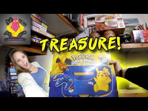 Retro Game Hunt | BOXED POKEMON N64 | Immaculate Retro Games and Retro Game Consoles | TheGebs24