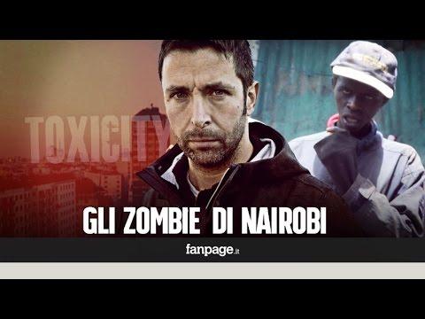 I bambini di Nairobi ridotti in zombie dalla droga dei poveri