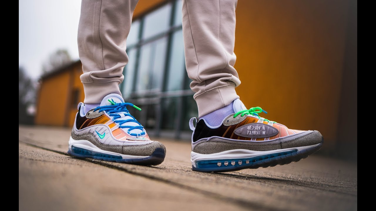 newest collection 7d126 719e4 Onfeet  ON AIR Nike Air Max 98 La Mezcla   Grailify