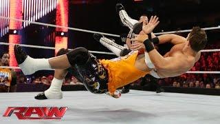 Jey Uso vs. The Miz: Raw, January 12, 2015