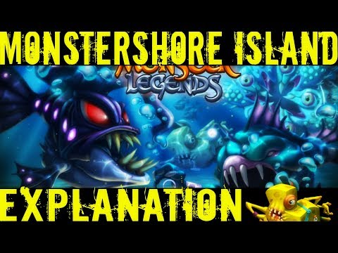 Monster Legends | Monstershore Island | Progressive Island Explanation | Island Boost Explanation