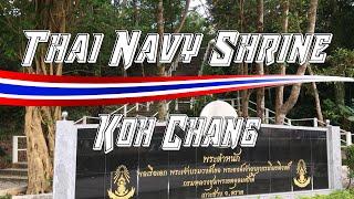 Thai Navy Shrine - Koh Chang, Thailand