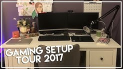GAMING SETUP TOUR 2017 | 75,000 Subscribers