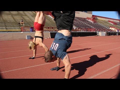 C&K Challenge: 800 Meter Handstand Walk