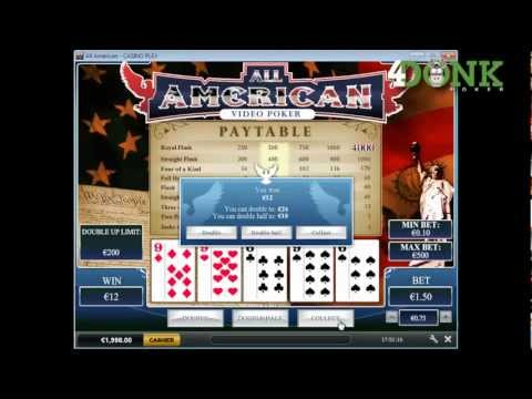 All American - 4DONK Playtech Casino
