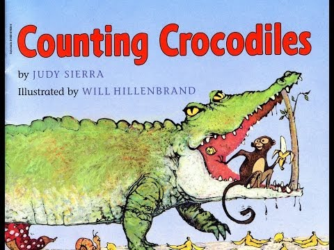 Counting Crocodiles by Judy Sierra and Will Hillenbrand.  Grandma Annii's Storytime.