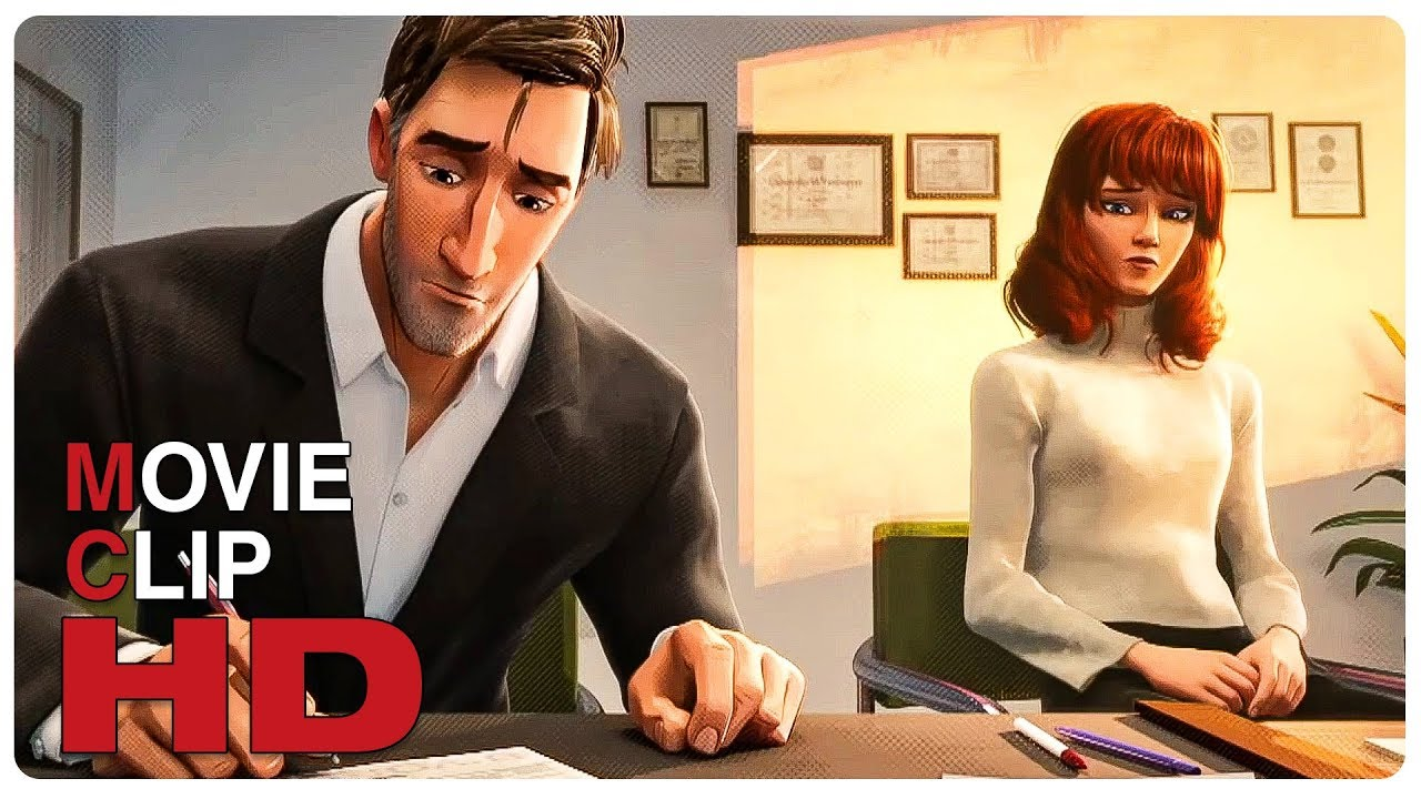 Peter Parker & Marry Jane Divorce Scene | SPIDER-MAN: INTO THE SPIDER-VERSE (2018) Movie CLIP HD