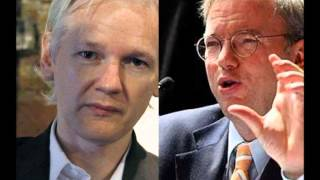 Secret meeting between Julian Assange and Google CEO Eric Schmidt