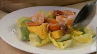 Charred Mango Salad With Prawns And Avocado - Harris Farm Markets