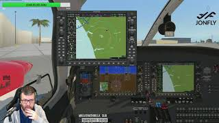 Aerosphere PA-44 Piper Seminole with G1000 X-Plane Part 1 of 2