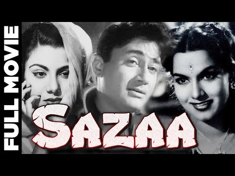 सज़ा-|-sazaa-(1951)-|-b&w-hindi-movie-|-dev-anand-|-nimmi-|-shyama