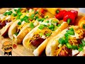 Memphis Style Smoked BBQ Hot Dogs - How to Grill on a Smoker - Everyday BBQ
