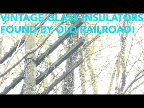 Episode Three: Vintage Glass Insulators Found By Old Railroad Tracks