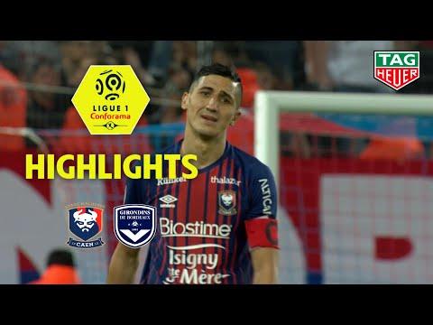 SM Caen - Girondins De Bordeaux ( 0-1 ) - Highlights - (SMC - GdB) / 2018-19
