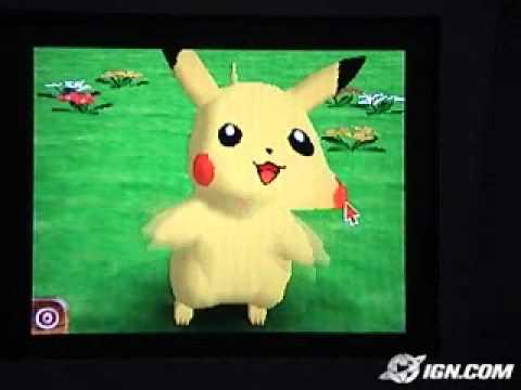 Pikachu: DS Tech Demo (IGN)