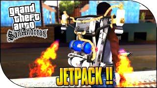 GTA San Andreas  - JET PACK ET CHEAT CODE ! ( GTA San Andreas Gameplay )