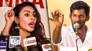 Sri Reddy Strong WARNING to Nadigar Sangam | Vishal | Press Meet | Latest Speech