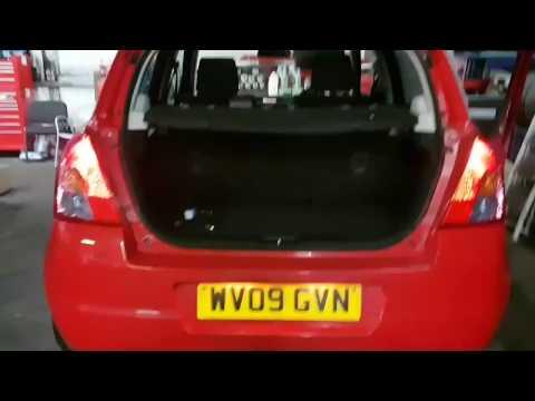 How to change brake light bulb - Suzuki Swift