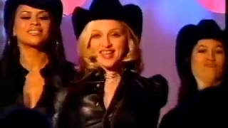 madonna : don't tell me : live at top of the pop : uk : 2000 :