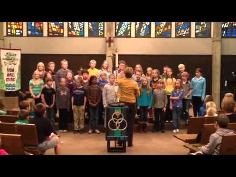 5th Grade shares a song in Chapel!