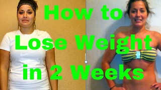 How to Lose Weight in 2 Weeks at Home | 2 Week Diet (EXPOSED)