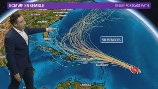 TROPICS UPDATE: Following three named storm systems