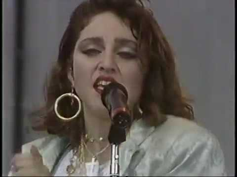 Madonna Live Aid 1985 (full uncut footage from MTV)