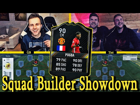 FIFA 17: OTW POGBA SQUAD BUILDER SHOWDOWN 😈🔥