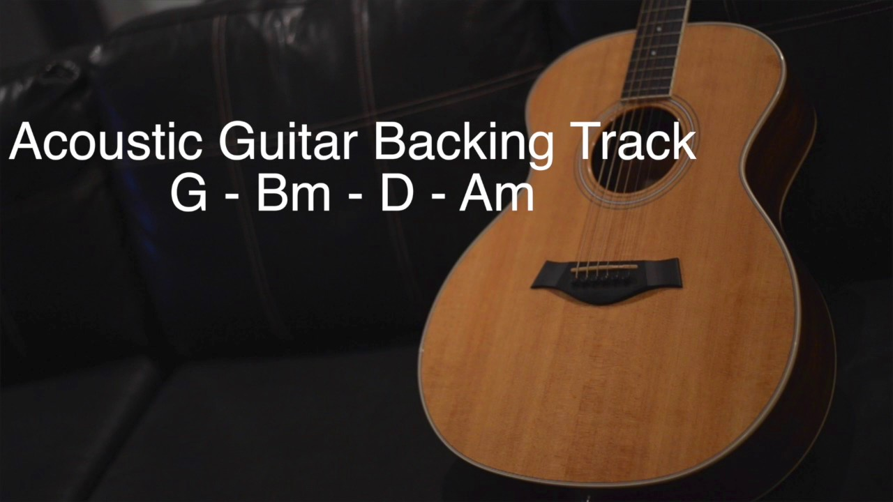 acoustic guitar backing track g bm d am youtube. Black Bedroom Furniture Sets. Home Design Ideas