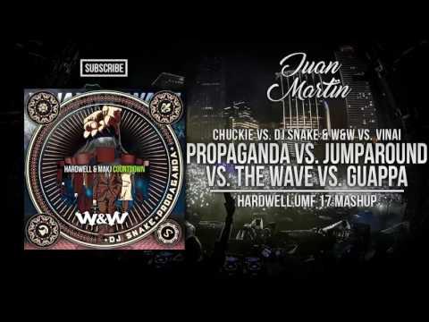 Jump Around vs. Guappa vs The Wave vs. Propaganda vs. Countdown (Hardwell Mashup)