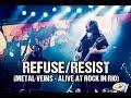 Capture de la vidéo Sepultura - Refuse/resist (Metal Veins - Alive At Rock In Rio) [Feat. Les Tambours Du Bronx]